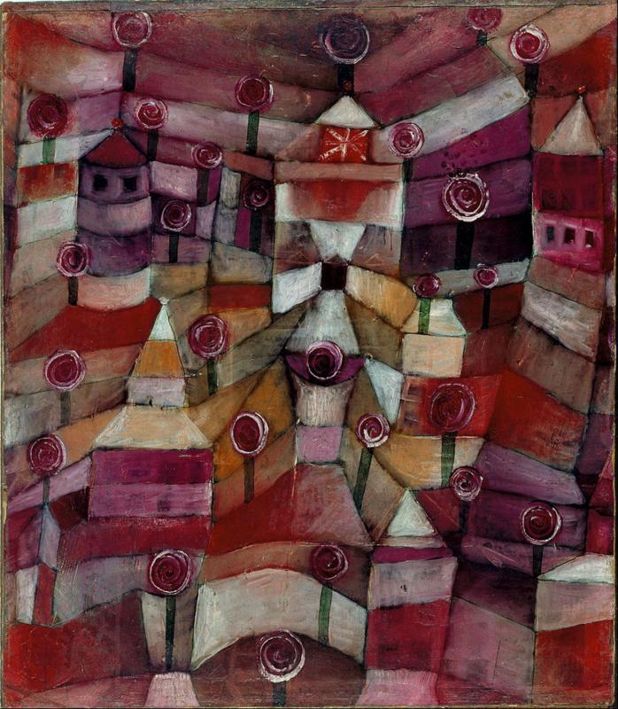 Klee, Rozentuin