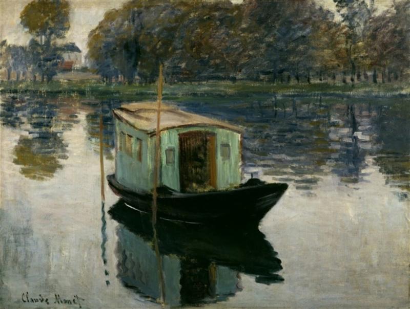 Monet, De studioboot
