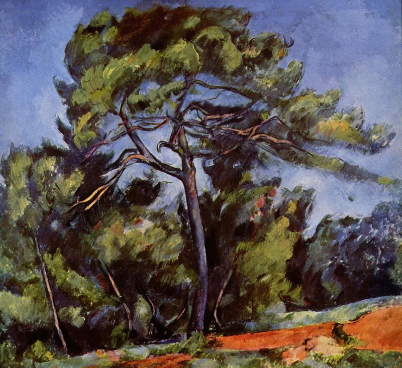 Cézanne, De grote pijnboom