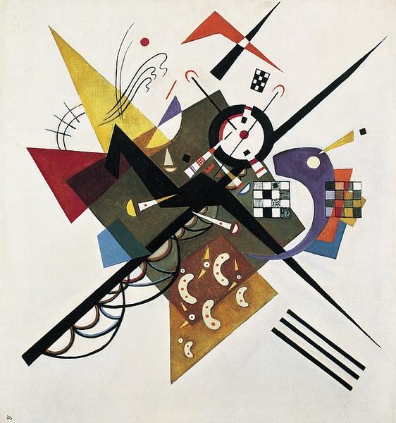 Kandinsky, On white II