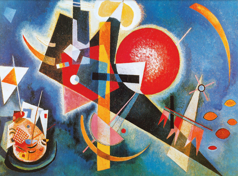 Kandinsky, In blue