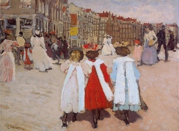 Breitner, Drie schoolmeisjes