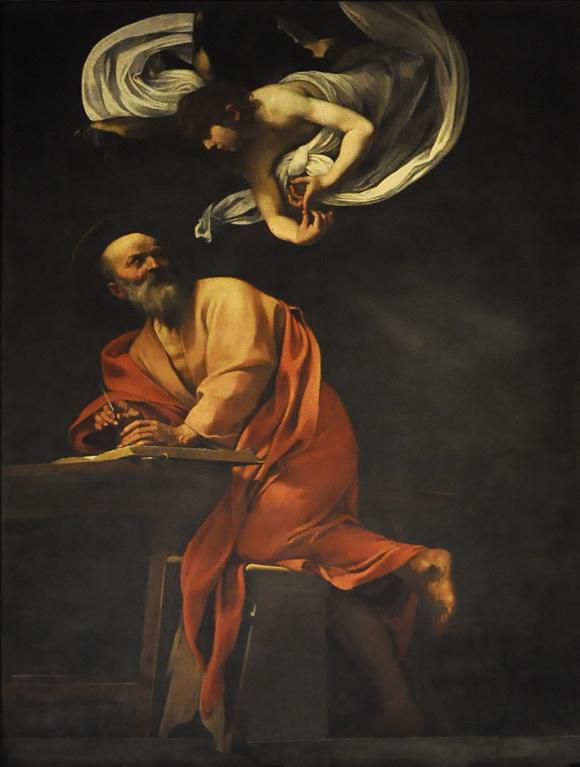 Caravaggio, Matteüs en de engel