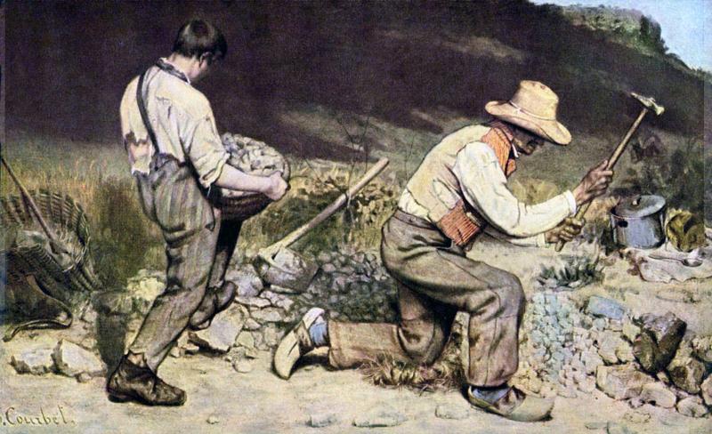 Courbet, De steenbrekers