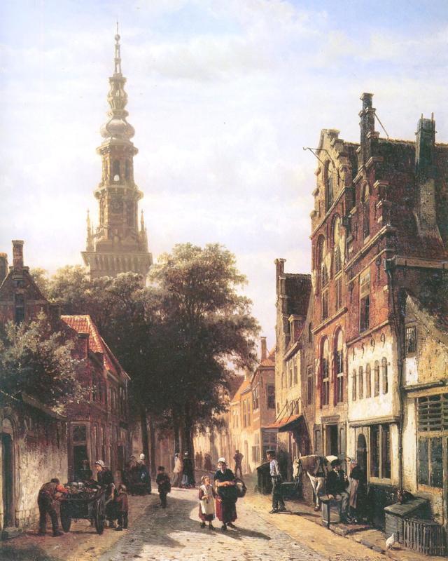 Springer, De Walenkerk in Haarlem