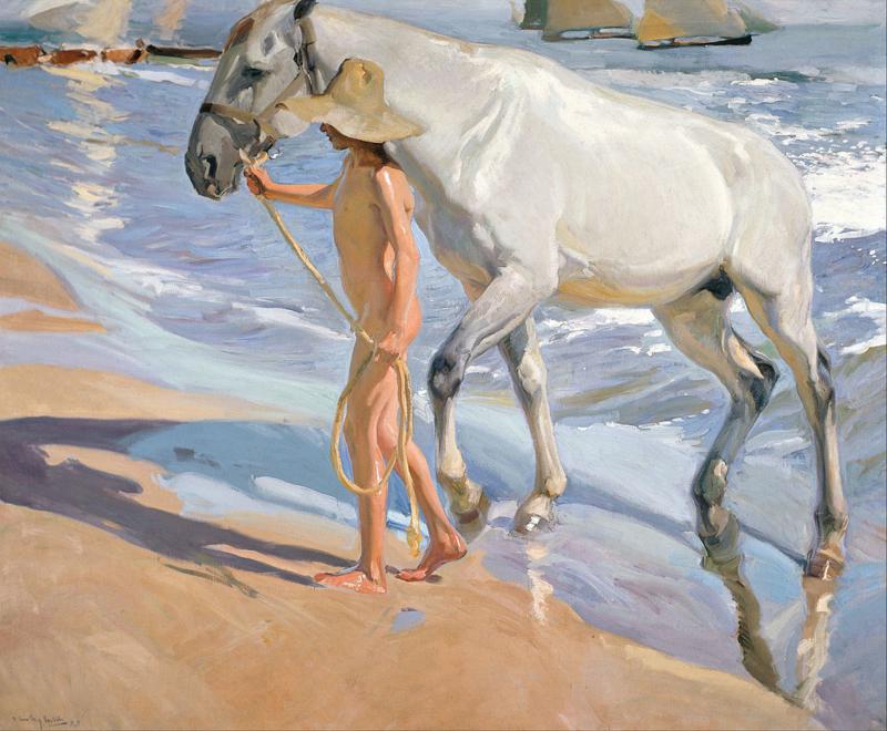 Sorolla, Het paardenbad