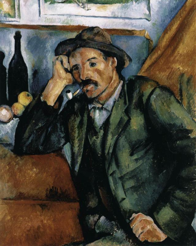 Cézanne, Man met pijp