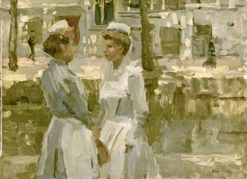 I. Israëls, Amsterdamse dienstmeisjes