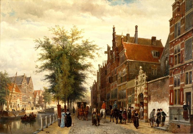 Springer, De Athenaeum Illustre in Amsterdam