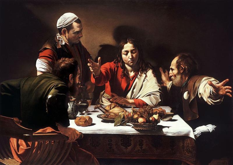Caravaggio, Avondmaal te Emmaus