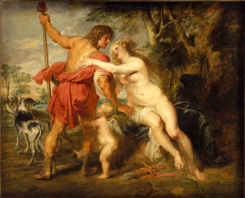 Rubens, Venus en Adonis