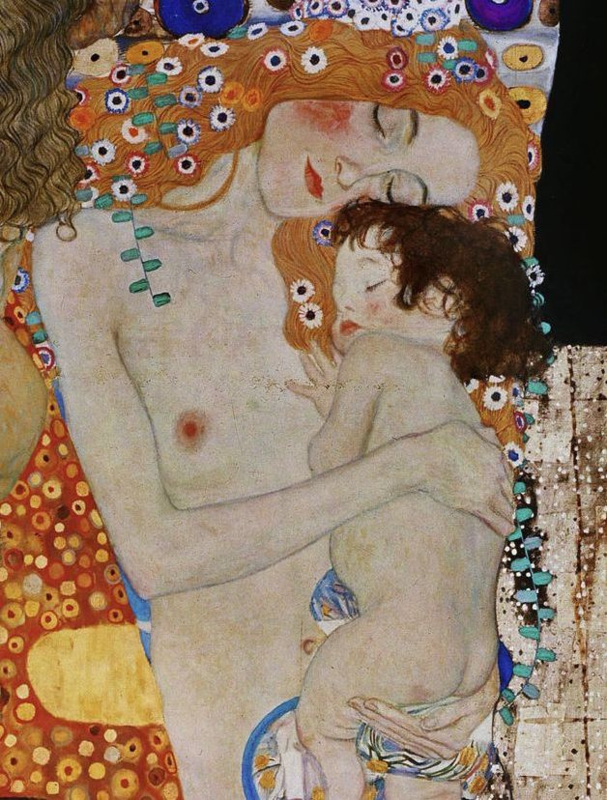 Klimt, Moeder en kind
