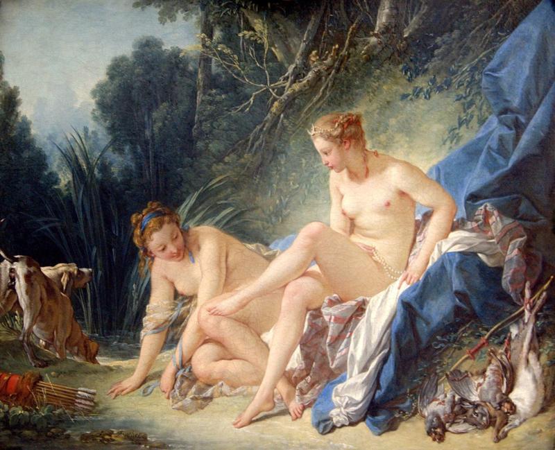 Boucher, Diana na het bad