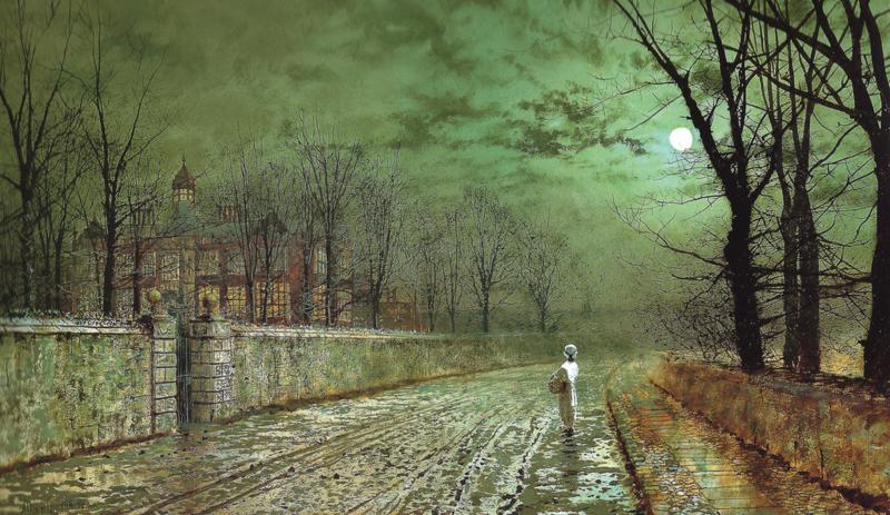 Grimshaw, Maanverlichte avond