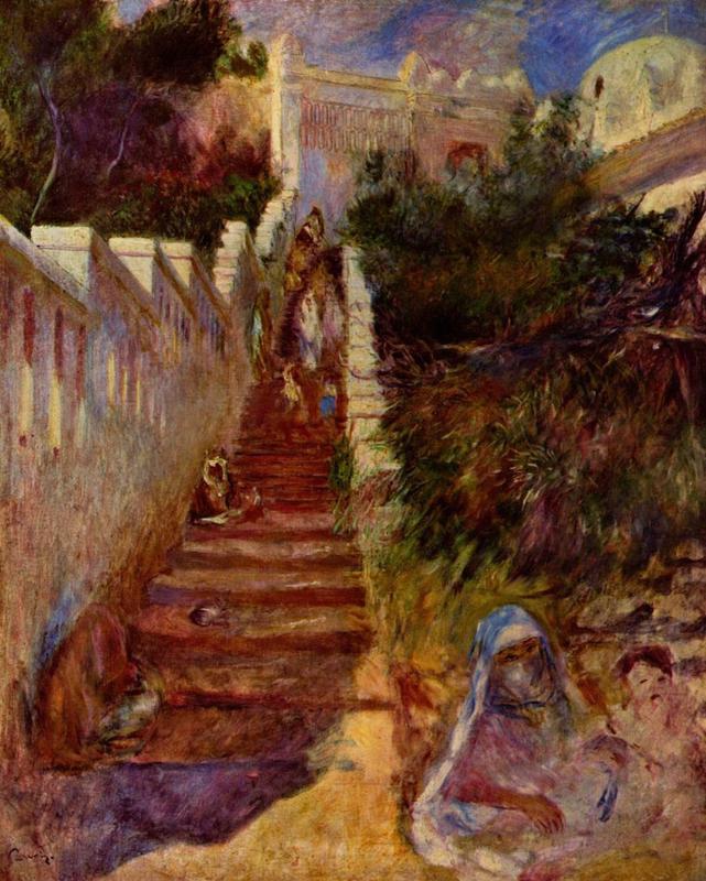 Renoir, Trappen in Algiers