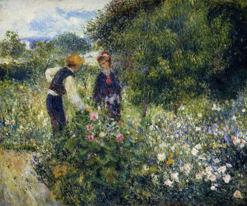 Renoir, Bloemplukkers
