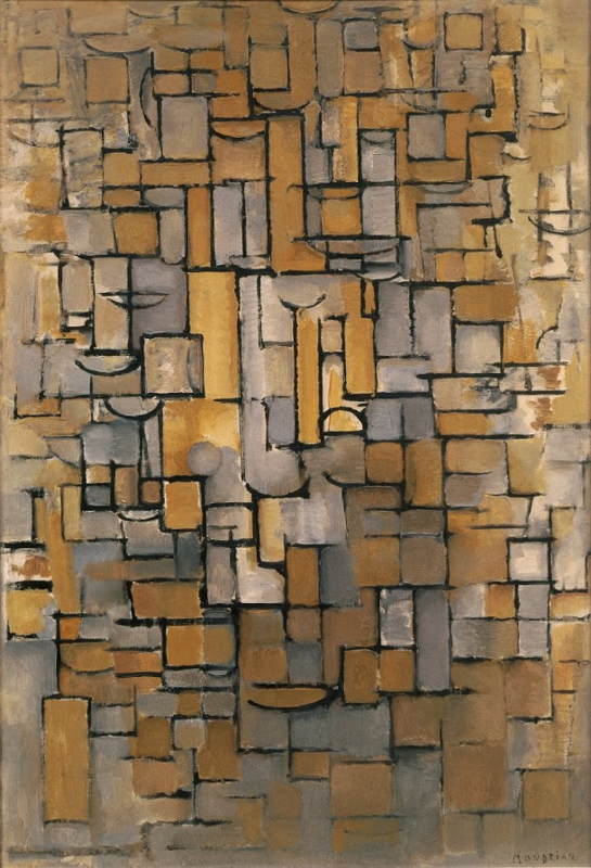 Mondriaan, Compositie XIV