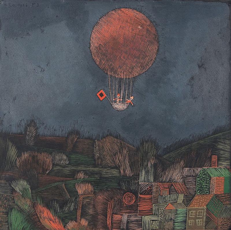 Klee, De luchtballon
