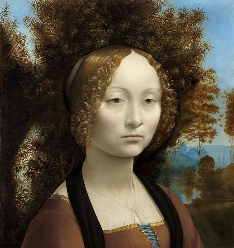 Da Vinci, Ginevra de Benci