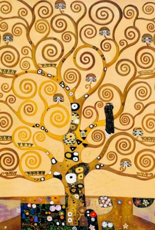 Klimt, De levensboom