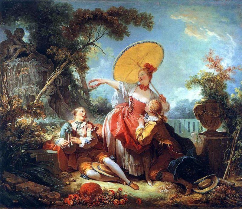 Fragonard, De musical