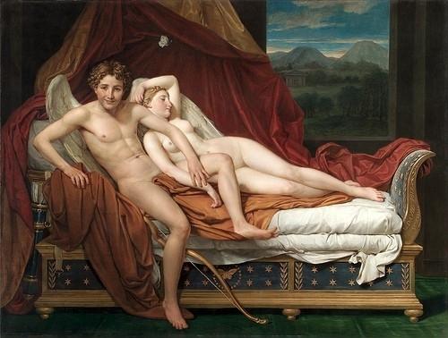 David, Cupido en Psyche