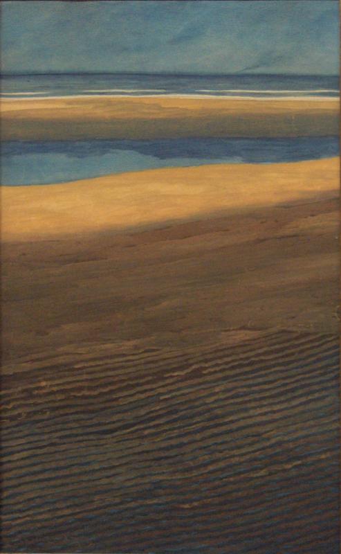 Spilliaert, Marine, strand bij laagtij