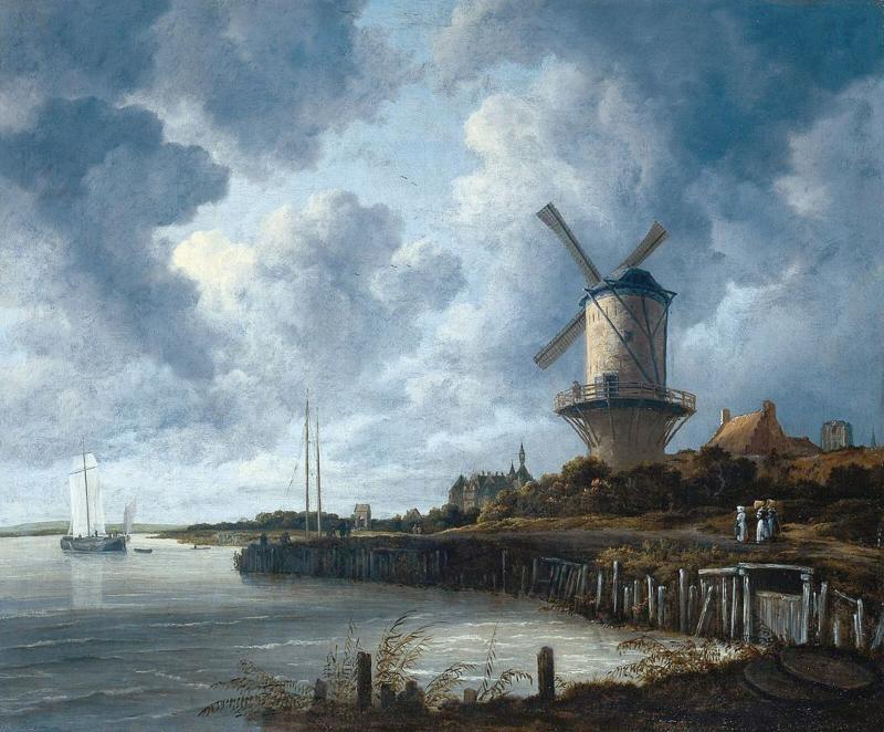 Van Ruisdael, De molen van Wijk bij Duurstede