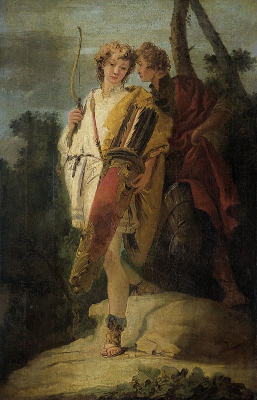 Tiepolo, Jonge man met een boog