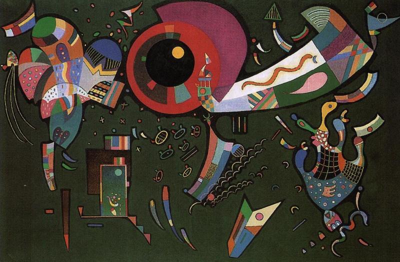 Kandinsky, Around the circle