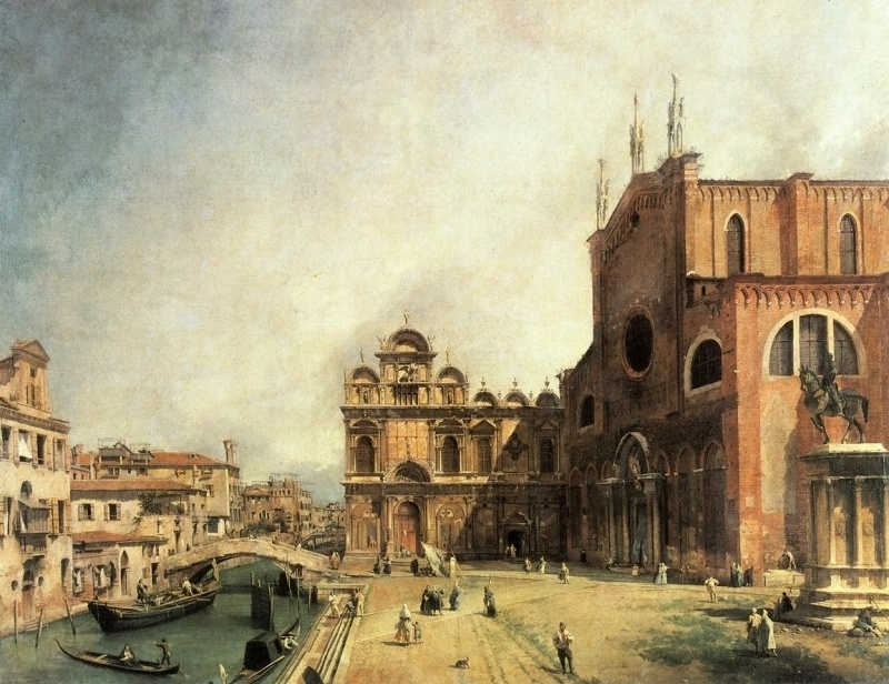 Canaletto, San Marco-plein, Venetië