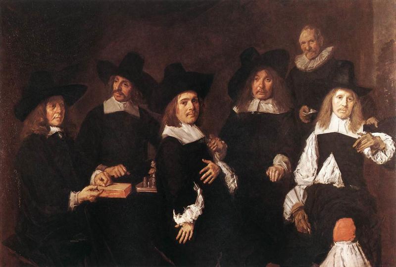 Hals, De regenten van het oude mannenhuis in Haarlem