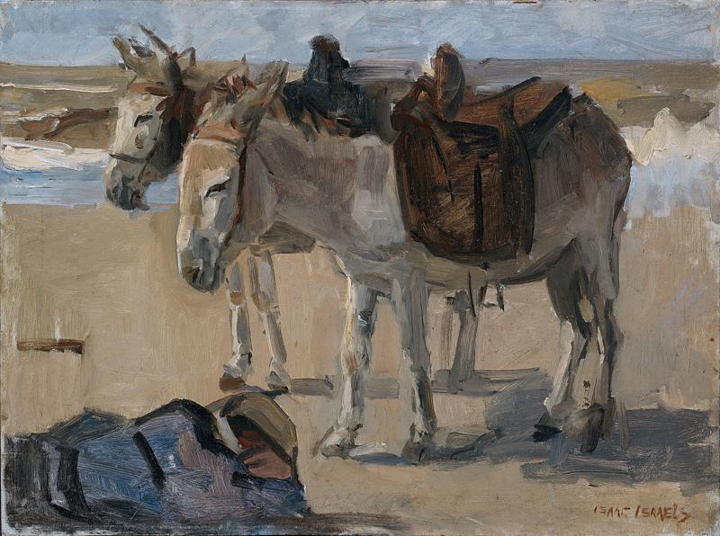 I. Israëls, Twee ezeltjes