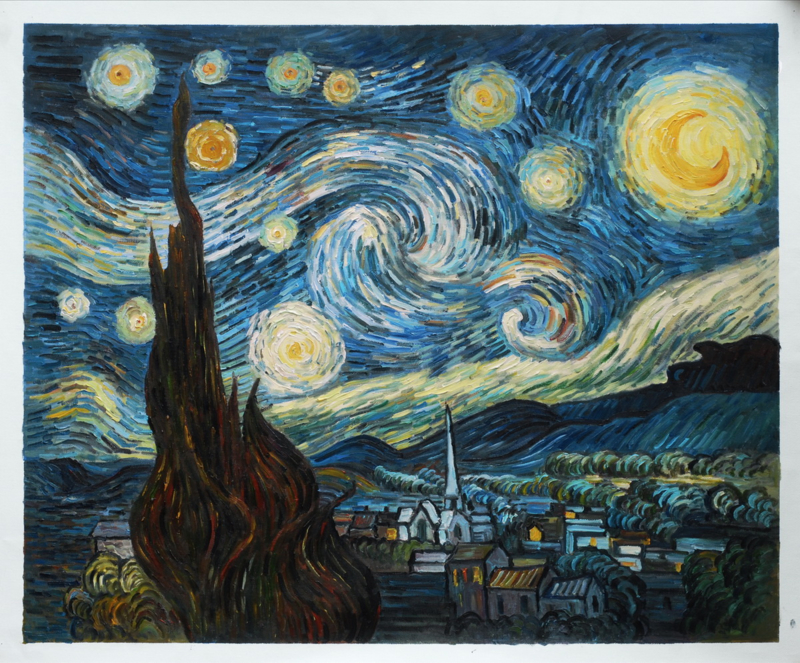 Van Gogh, Sterrennacht