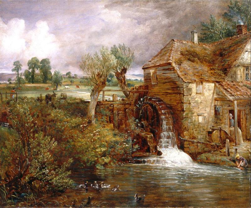 Constable, Molen bij Gillingham