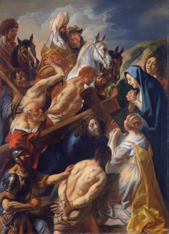 Jordaens, De kruisdraging
