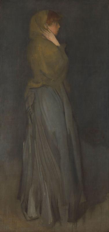 Whistler, Arrangement in geel en grijs: Effie Deans