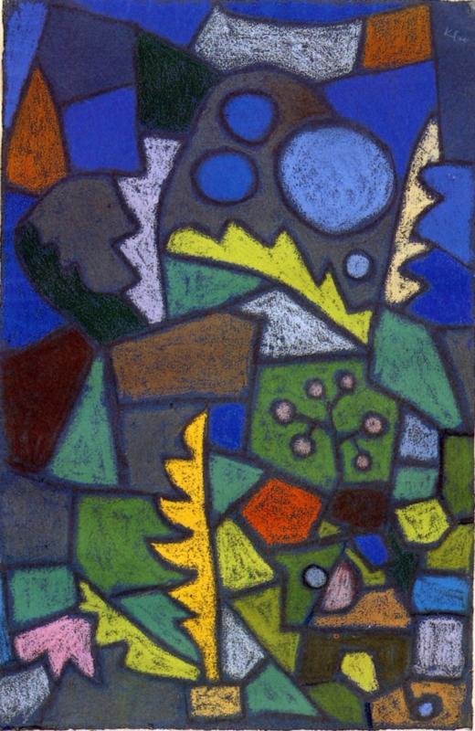 Klee, Bloementuin