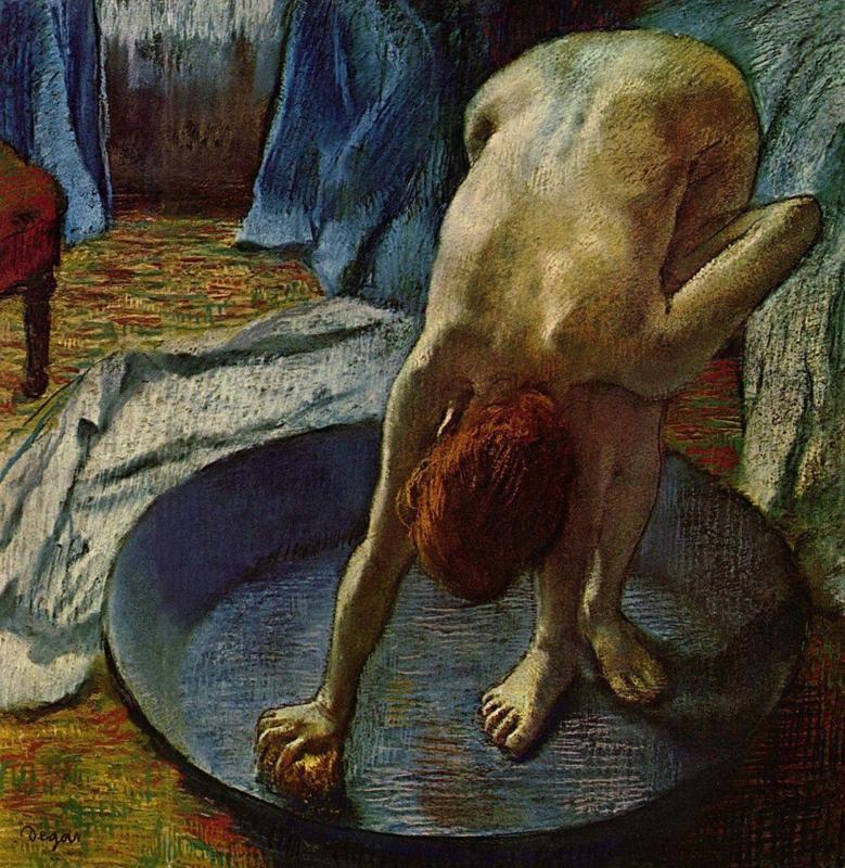 Degas, Vrouw in de badkuip
