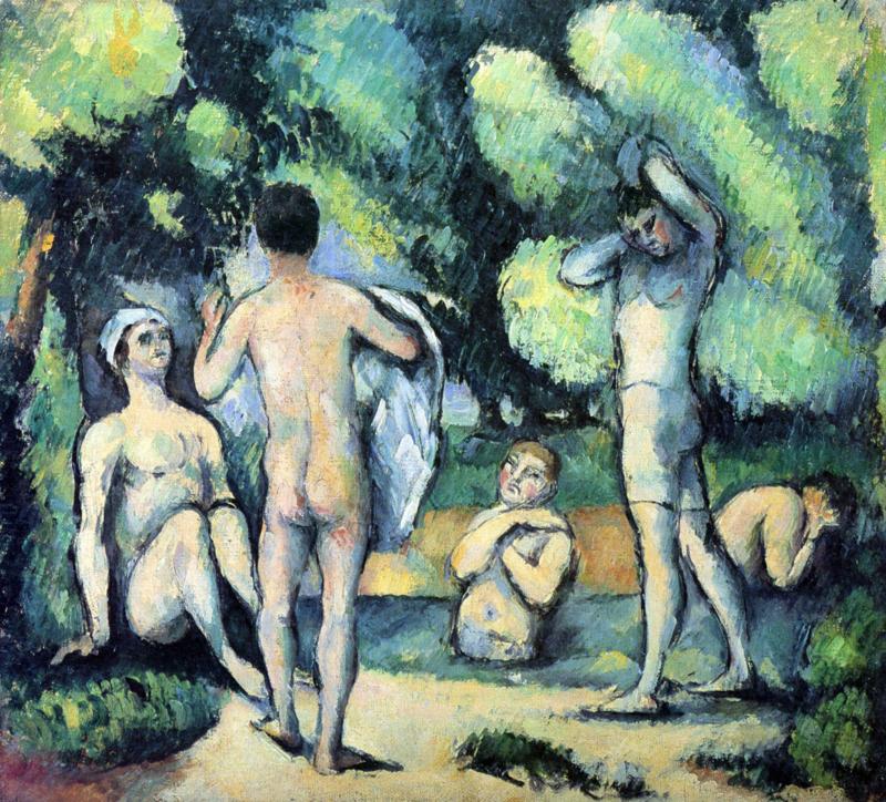 Cézanne, Baders