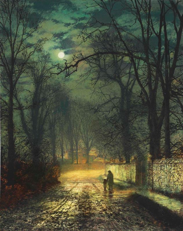 Grimshaw, Een maanverlichte laan