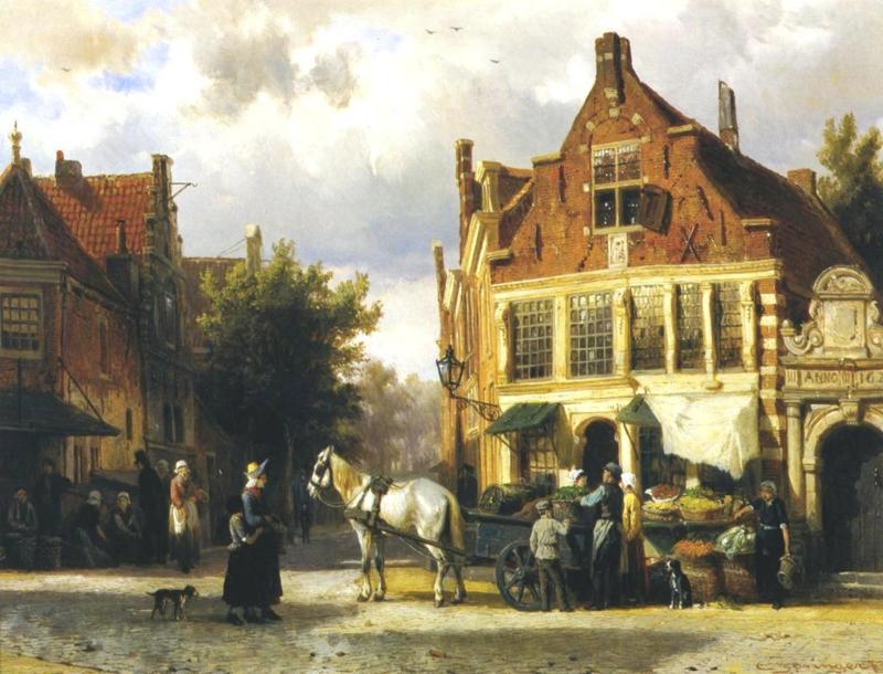 Springer, Westerstraat in Enkhuizen
