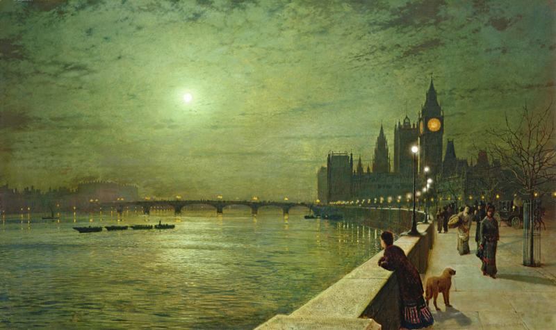 Grimshaw, Reflections on the Thames