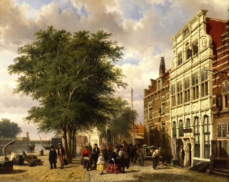 Springer, De haven van Middelburg