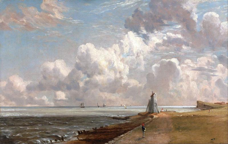 Constable, Harwich, de lage vuurtoren en Beacon Hill