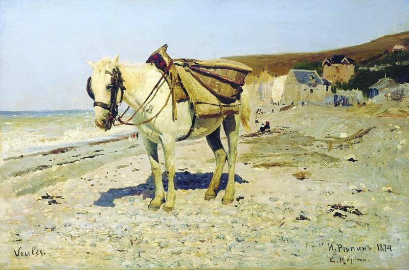 Repin, Paard