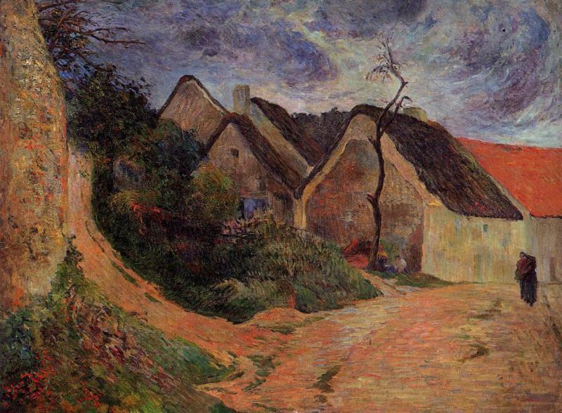 Gauguin, Oplopende weg in Osny