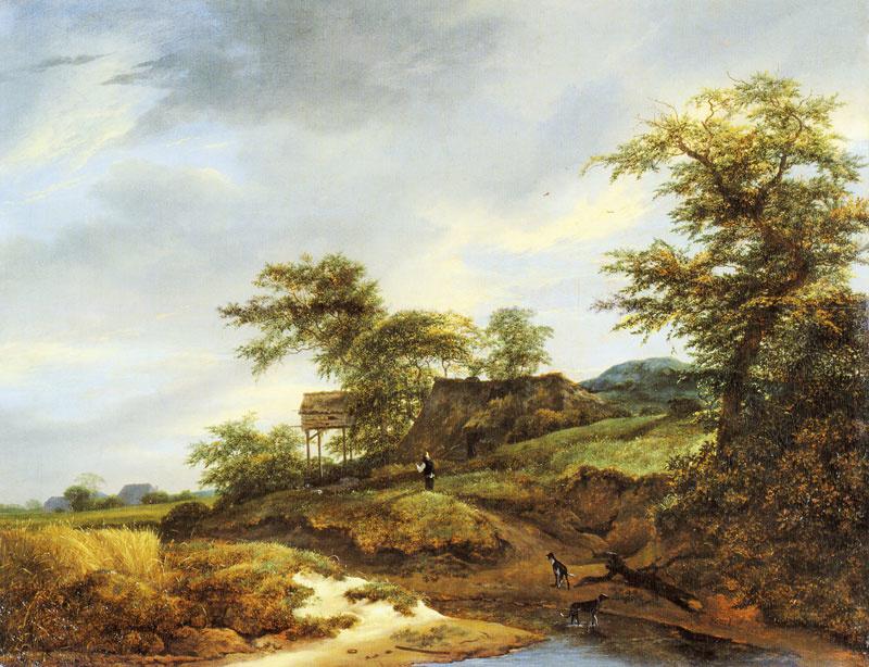 Van Ruisdael, Weg door de duinen