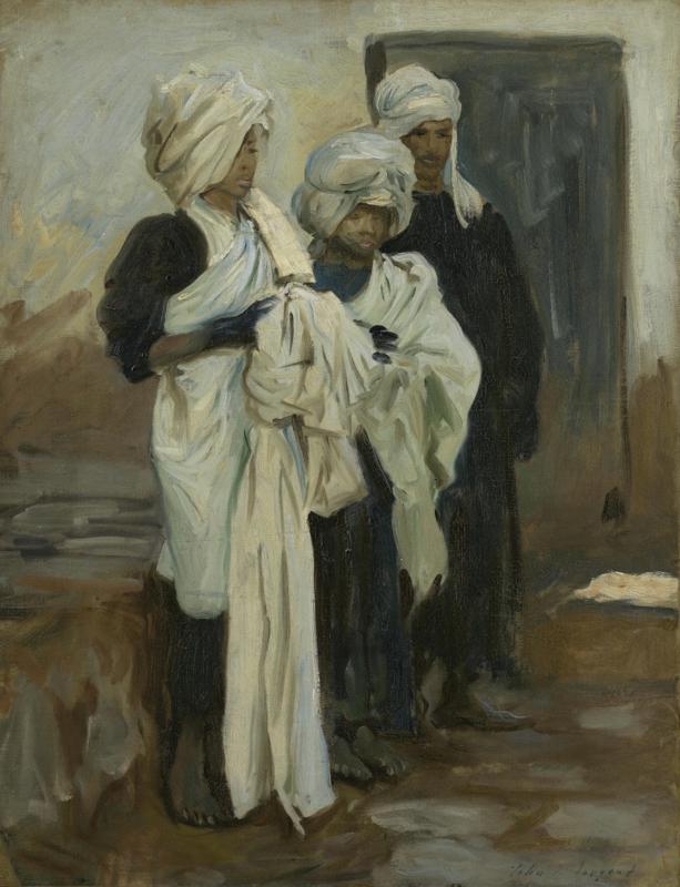 Sargent, Egyptische indigoververs