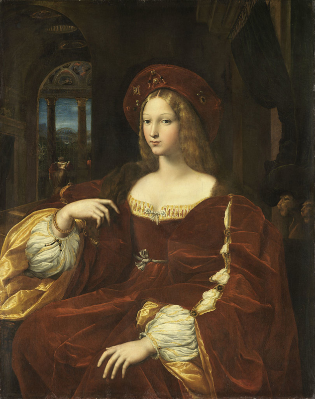 Rafaël, Johanna van Aragon